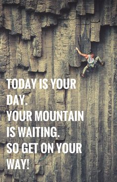 get on on your way! today is YOUR day!   #lifeadvancer   @lifeadvancer
