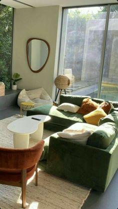 Dream Home Design, Home Interior Design, Living Room Interior, Living Room Decor, Dining Room, Indie Living Room, Retro Living Rooms, Decor Room, Aesthetic Room Decor