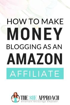 Want to increase your Amazon affiliate commisions, and make money blogging as an Amazon affiliate? Find out how in my new blog post over on The She Approach. Learn how to grow your business with affiliate marketing and make more money online with these affiliate strategies. #businesstips #onlinemarketing #bloggingtips