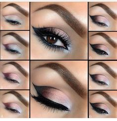 Love love this look! If I could only find a fine tip eyeliner