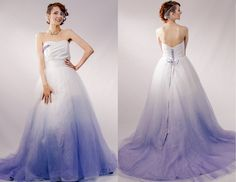 Colored Wedding Dresses From Bridal Fashion Week