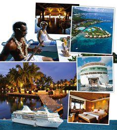 Paul Gauguin Cruise + Tahiti & The Society Islands. #Dreamy