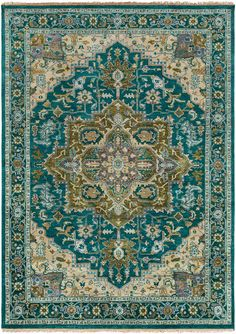 Ancient designs, rich color palettes and quality craftsmanship combine to create the radiant rugs of the Zeus Collection. Hand Knotted in India, each rug is a masterpiece of traditional style, with in