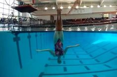 London Olympics games: Synchronized swimming - what is going on under the water.
