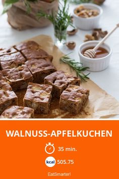 Walnuss-Apfelkuchen - smarter - Zeit: 35 Min. | eatsmarter.de