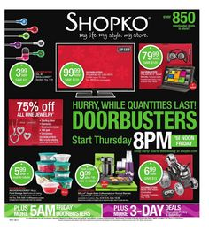 ShopKo Black Friday Ad Scan for 2013 Page 1 of 57