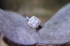 #Sanders Jewelers | #Gainesville, FL | Diamond Halo #Engagement Ring