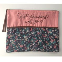 Flat pouch pink  http://bonony.thebase.in