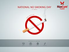Quit Smoking on this National NO Smoking Day and save your life  Visit: https://www.maxcurehospitals.com/ #MaxCureHospitals #MaxCure #NationalNoSmokingDay #NoSmokingDay #QuitSmoking #SaveYOurLife #SaveLifes #Hyderabad