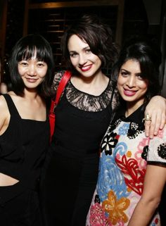Doona Bae, Tuppence Middleton and Tina Desai at event of Sense8 (2015)