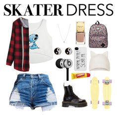 """For the skatergirls"" by aleyna02-1 on Polyvore"