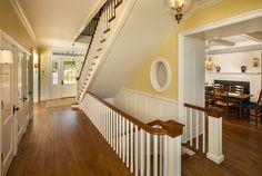 Farmhouse staircase. Photo by Robin Victor Goetz / www.GoRVGP.com