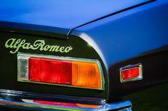 1982 Alfa Romeo Spider Veloce Taillight Emblem - Car photographs  by Jill Reger