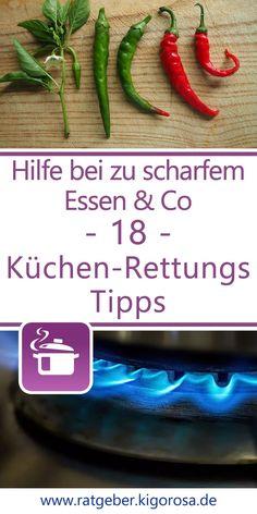 18 Küchen-Rettungs-Tipps Green Beans, Vegetables, Food, Green Ideas, Healthy Dieting, Helpful Tips, Tips And Tricks, Meal, Essen