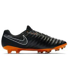 info for 596d6 c52b2 Sale Nike Tiempo Legend VII Elite FG Men s Black-Total Orange-White