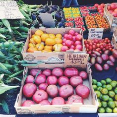 Colors at the Culver City Farmers Market #healthy #beautiful #food #healthy #farmers