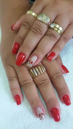Amo o que faço #unhasmaravilhosas Acrylic Nail Designs, Acrylic Nails, Nail Inspo, Hair Beauty, Glitter, Dark Nails, Easy Nails, Red Toenails, Nail Colors