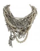 rockstar meet lady of pearls. Stunning piece from Tom Binns. always LOVE.