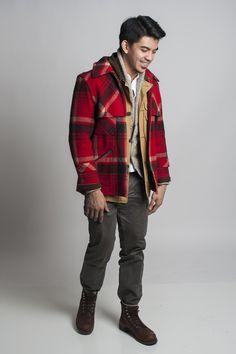 vintage ralph lauren lumberjack coat