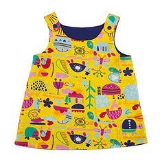 Sigikid Baby-Mädchen Kleid Wendekleid
