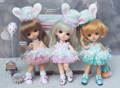Lati Yellow Sunny, G.Yuri, S.Belle (Bunny Collection) | Flickr