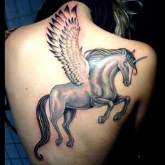 Looking for designs related to magical world which are beautiful and graceful then these 9 best unicorn tattoo designs are the ideal designs for you. Dream Tattoos, Girly Tattoos, Disney Tattoos, Love Tattoos, Beautiful Tattoos, Tattoos For Women, Beautiful Soul, Mystical Tattoos, Sick Tattoo