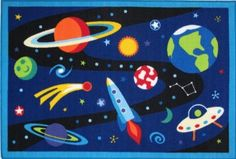 Fun Rugs Out of This World OLK-019