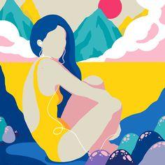 Sara Andreasson, Illustration for Sosh Creative Roll, 2014 ______ See more on: ♥ iheartmyart Art And Illustration, Illustrations And Posters, Character Illustration, Graphic Design Illustration, Graphic Art, Art Pop, Art Watercolor, Art Inspo, Vector Art