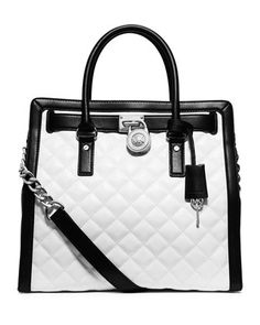 0e2ffc5130 MICHAEL Michael Kors Hamilton Quilted North-South Tote Bag