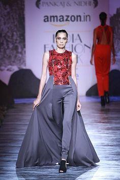 Pankaj & Nidhi. LFW A/W 15'. Indian Couture.
