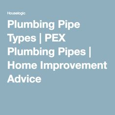 1000 images about pex piping tips on pinterest plumbing for Pex pros and cons