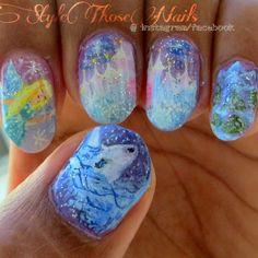 Style Those Nails: Enchanted Winter Wonderland Nailart