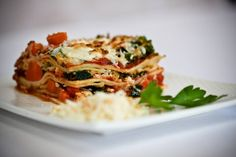 #On1y's Roasted Garlic and Pink Salt give this herb lasagna a whole new twist! #foodlove #instafood #food #foodie #followus #spices #herbs #followback #healthy #summer #instalove #gourmet
