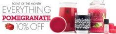 All Pomegranate products 10% OFF