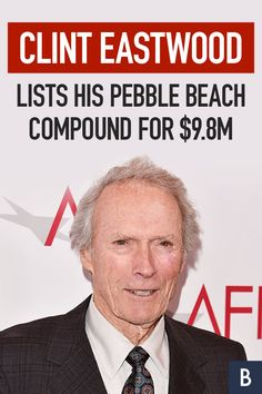 If you're feeling lucky, punk, you could offer Clint Eastwood a fistful of dollars for his Spanish Colonial mansion in Pebble Beach, California. Take a look inside! Photo credit: Alberto E. Clint Eastwood House, Colonial Mansion, Spanish Colonial, Frugal Tips, Celebrity Houses, Pebble Beach, Photo Credit, 1920s, Punk