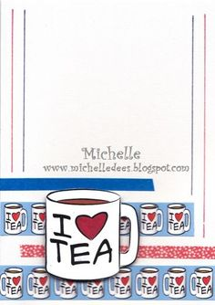 """Cuppa"" digi stamp http://www.doctor-digi.com/cuppa-digital-stamp?filter_name=cuppa Card by Michelle http://www.michelledees.blogspot.de/"
