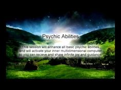 Psychic Abilities and Inner Computer Activation
