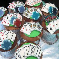 Texas Holdem Cupcakes