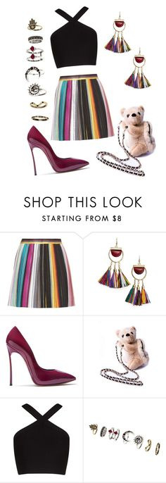 """""""Chic"""" by wanttowearwhat on Polyvore featuring Missoni, MANGO, Casadei and BCBGMAXAZRIA"""