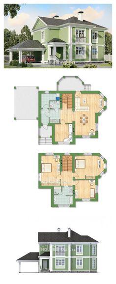 Ev villa projesi 170-001-L | House Expert