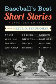 You needn't even be a sports fan to enjoy these 34 hugely entertaining tales. Ring Lardner, James Thurber, Garrison Keillor, and even the great P. G. Wodehouse all had a swing at our national pastime.