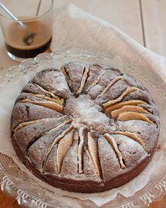 Chocolade-perentaart met amandel Patisserie Cake, Good Food, Yummy Food, No Bake Pies, Pie Dessert, Different Recipes, Cupcake Cookies, Cookie Recipes, Food And Drink