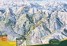 The Canyons Map...Park City, UT