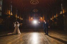 The couple pulled out all the stops to host an insanely detailed Hogwarts wedding in Manchester.