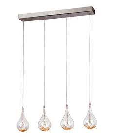 Another great find on #zulily! Beaded Drop Mini Pendant Light by Trans Globe Lighting #zulilyfinds