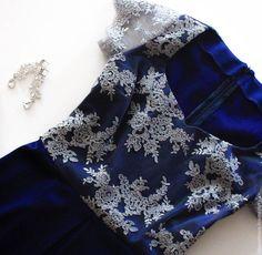 Купить Вечернее платье - вырез сердечко, кружево, вечернее платье, платье, короткое платье