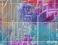 City brings us the vitality and discreet complexity of an extremely cosmopolitan city. Mural consisting of two sets of four tiles that can create as Candy Colors, Wall Tiles, City, Tiles, Creativity, Room Tiles, Cities, Wall Tile