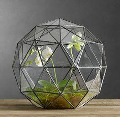 Geodesic Terrarium by restorationhardwareTerrarium Geodesic_Dome restorationhardware