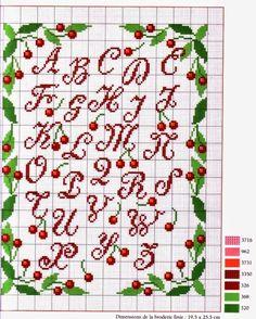 434 Fantastiche Immagini Su Piccoli Alfabeti Cross Stitch Alphabet