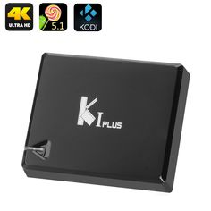 Upgrade your home entertainment system with the K1 4K Android TV Box, coming with pre-installed Kodi 15.2